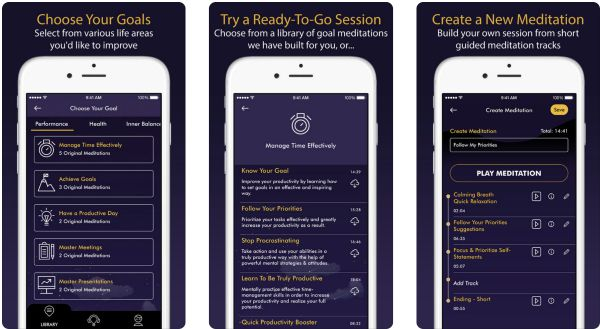 meditable best meditation apps |The Best Meditation Apps to Finally Destress in 2018 https://positiveroutines.com/best-meditation-apps-new-year/