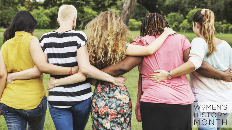 diverse group of women arms around each other female friendships | What You Need to Know about Female Friendships