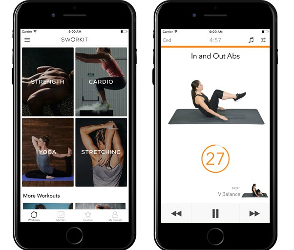 Sworkit Top Fitness Apps | Top Fitness Apps for Effective HIIT Workouts