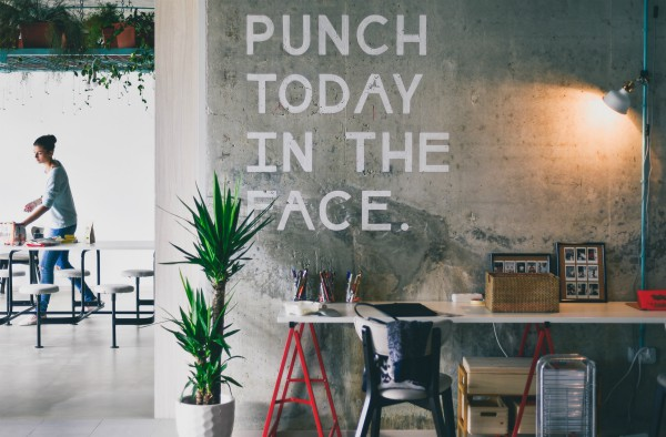 punch today in the face on wall in office | What You Need to Know about Stress and the Brain