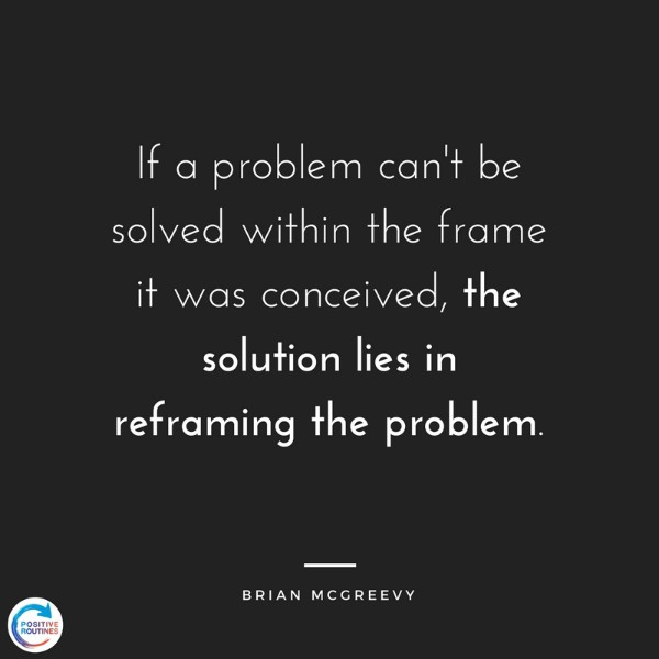 quote about reframing brian mcgreevy | How to Improve Productivity in the Workplace and Beyond