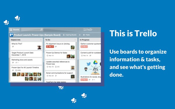 Trello explanation | 11 Good Father's Day Gifts to Make Dad More Productive https://positiveroutines.com/good-fathers-day-gifts-2018/
