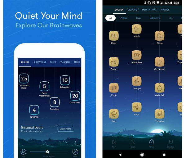 Relax Melodies Free Sleep Apps | 11 Free Sleep Apps for the Best Nights This Season https://positiveroutines.com/free-sleep-apps/