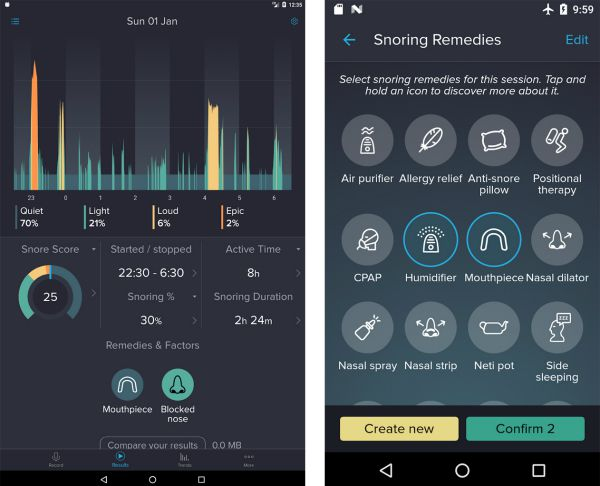 SnoreLab Free Sleep App | 11 Free Sleep Apps for the Best Nights This Season https://positiveroutines.com/free-sleep-apps/