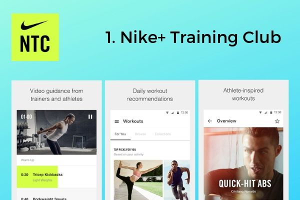 1. Nike+ Training Club | The Best Free Workout Apps That Make Exercise Easy https://positiveroutines.com/best-free-workout-apps/