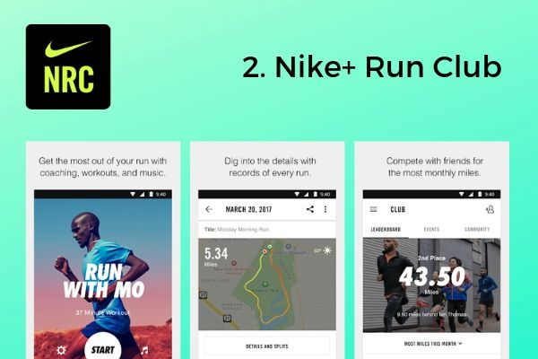 2. Nike+ Run Club | The Best Free Workout Apps That Make Exercise Easy https://positiveroutines.com/best-free-workout-apps/