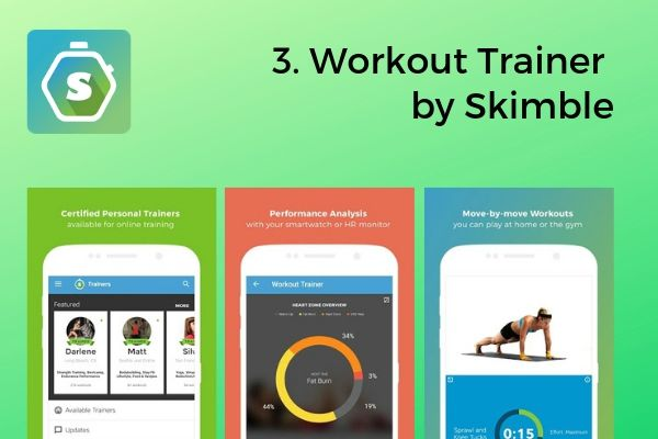 3. Workout Trainer by Skimble | The Best Free Workout Apps That Make Exercise Easy https://positiveroutines.com/best-free-workout-apps/